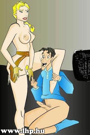 Karikatúra törpe pornó