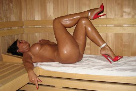 голые полные женщины в бане фото