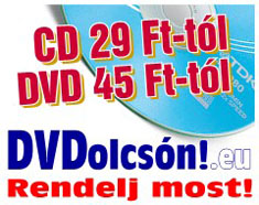 CD, DVD, mem�riak�rtya rendel�s